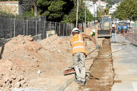 El caos circulatorio se adueñará del inicio de curso en la zona de sa Blanca Dona por las obras