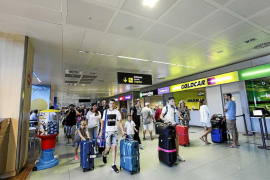 El aeropuerto de Eivissa superó en agosto los 1,3 millones de pasajeros