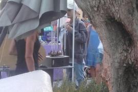Justin Bieber se deja ver por Las Dalias