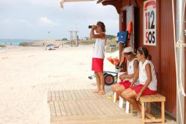 Una turista de 61 años muere en Formentera tras ahogarse en Es Pas des Trucadors