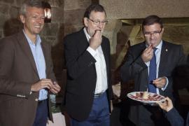 Gritos de «corrupto» contra Rajoy en Galicia