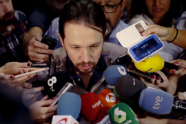 Pablo Iglesias: me consta que en el PSOE hay muchos que «le quieren cortar la cabeza» a Pedro Sánchez