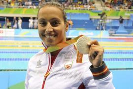 Teresa Perales resurge y se cuelga una medalla de plata