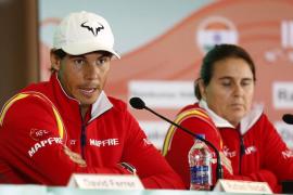 Nadal, indispuesto, no disputará el primer partido de la Copa Davis