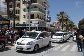 Llegan los taxis de siete plazas