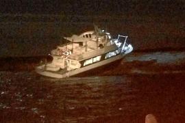 Un «despiste» del capitán originó el accidente del 'Joven Antonia II' en sa Torreta