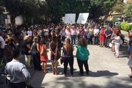 Concentración en Ibiza por el asesinato de Ada Graciela