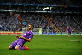 James y Benzema hacen olvidar a Cristiano y Bale ante el Espanyol