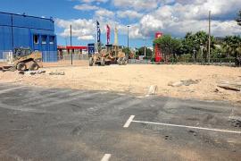 Comienzan las obras para ampliar en 80 plazas más el aparcamiento de es Gorg