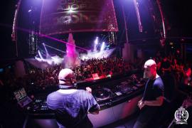 Llenazo total en la última fiesta de Carl Cox en Space Ibiza