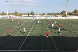 La Peña y el Mallorca B se van al descanso 1-1