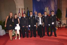 Acto de celebración del Día de la Policía en el Patio de la Misericòrdia