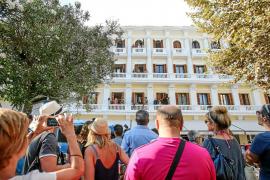 La fachada del Montesol inmortalizada 40 años después por la cámara de Toni Riera