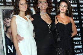 Penélope Cruz, Sofia Loren y Marion Cotillard, juntas