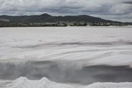 Proceso de recogida de la sal en Eivissa