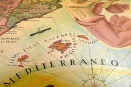 Las islas en 'mapas de arte'