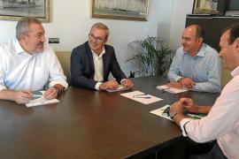 El Consell y Santa Eulària buscan fórmulas para financiar la segunda fase del Palau de Congressos