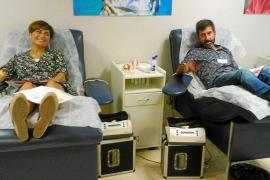 Maratón del Banco de Sangre en Ibiza para llegar a cien donaciones en once horas