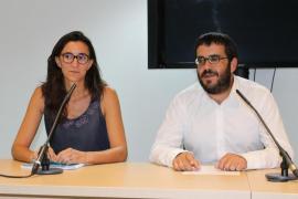 Vicenç Vidal y Caterina Amengual
