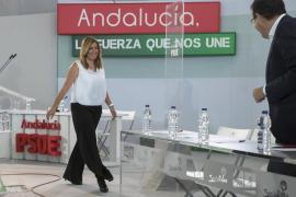 Susana Díaz le dice a Sánchez que primero hay que arreglar «España y luego el PSOE»