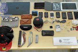 La Policía Nacional detiene a un ladrón «muy activo», autor de 15 robos en Ibiza