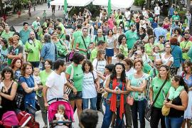 Docentes y familias se unen para exigir un presupuesto «digno» para la educación pitiusa