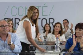Susana Díaz se suma al tuit de Patxi López: «Me duele el PSOE»