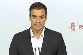 Sánchez dimitirá si el Comité Federal apoya la abstención en la investidura de Rajoy