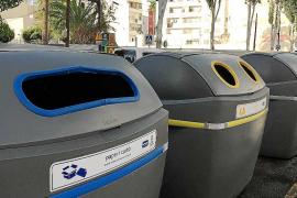 Cambian todos los contenedores de la avenida Isidor Macabich