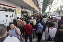 El paro en Balears cae un 14,6 % en septiembre hasta los 48.270 desempleados