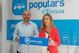 El Partido Popular acusa a Armengol de «birlar» medio millón al Consell d'Eivissa