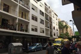 La Policía Nacional investiga la muerte de un joven italiano precipitado desde un quinto piso en Vila