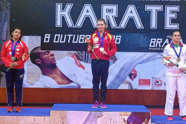 La ibicenca Cristina Ferrer, oro individual y bronce por equipos