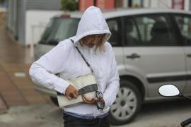 La primera tormenta de otoño en Ibiza descarga con intensidad