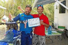 El ibicenco Carlos Torres, subcampeón de España en MX35