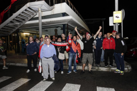 Formentera recibe con honores a su equipo