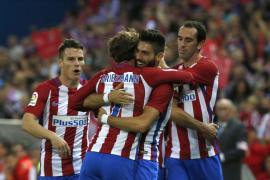 El Atlético de Madrid, una máquina de marcar ante el Granada