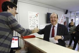 Iceta, reelegido líder del PSC al imponerse a Parlon