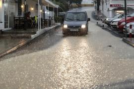 Ibiza ha registrado en los últimos días más lluvias que en el resto del año