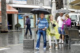 La borrasca deja 20 litros en Ibiza y bajan las temperaturas