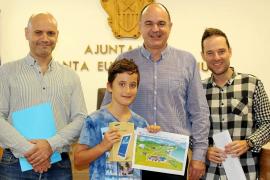 Ian Roig, ganador del concurso del Día Mundial del Agua de Aqualia