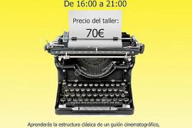 Eivissacinema celebrará un taller de 'Guión de Cine' en noviembre
