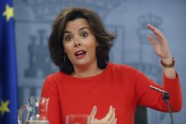 Sáenz de Santamaría dice que Rajoy está preparando el discurso de investidura porque «hay que prevenir»