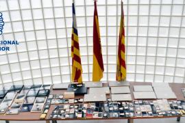 La Policía Nacional recupera un botín valorado en más de 150.000 € en la 'Operación Pantalán'