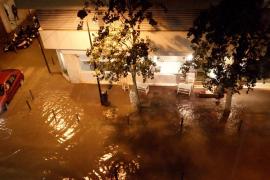 Una fuerte tormenta vuelve a dejar Ibiza sumida en el caos