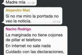 Los jueces validan la difusión de los whatsapps que provocaron la caída del gobierno de Vila