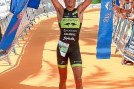 Rodríguez, héroe del triatlón