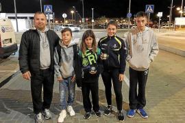 Carla Marí y Justin Mulet se suben al podio en Nègrepelisse