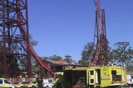 Cuatro muertos en un accidente en un parque de atracciones de Australia