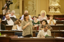 Armengol: «Que Rajoy sea presidente es una noticia tristísima»